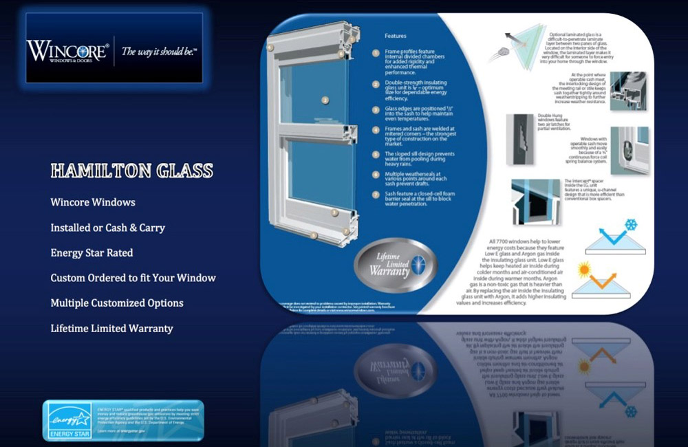 Hamliton Glass Windows Doors and More - Wincore